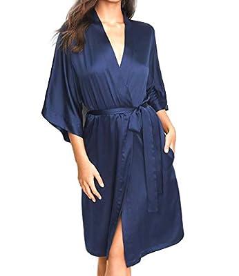 Victorias Secrets Ensign Satin Robe Size Xs/S