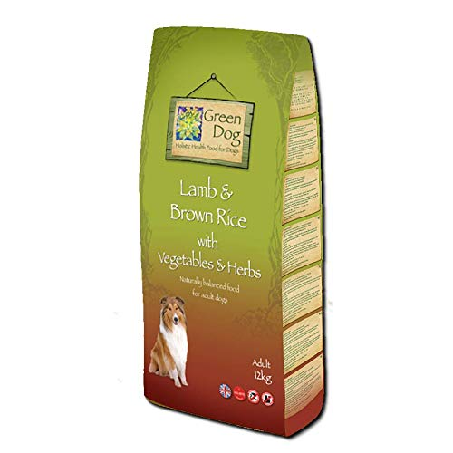 Green Dog Lamb & Brown Rice, 12kg (Adult All Stages)