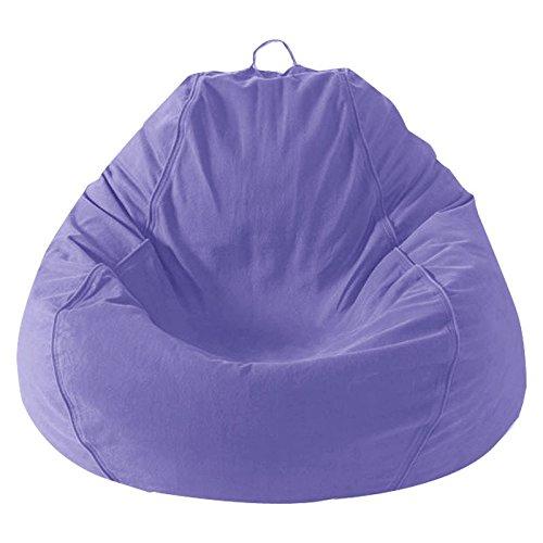 Mybeanbag Chair Kids Pear, Twill, Lavender My Beanbag