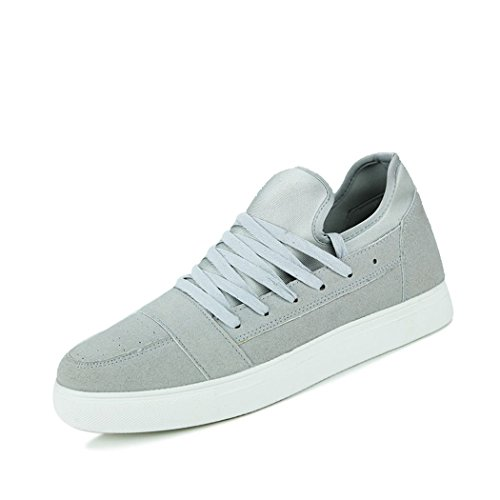 hydne-mens-casual-fashionable-lace-up-simple-flat-antiskid-comfortable-shoes43-m-eu-95-dm-usgrey