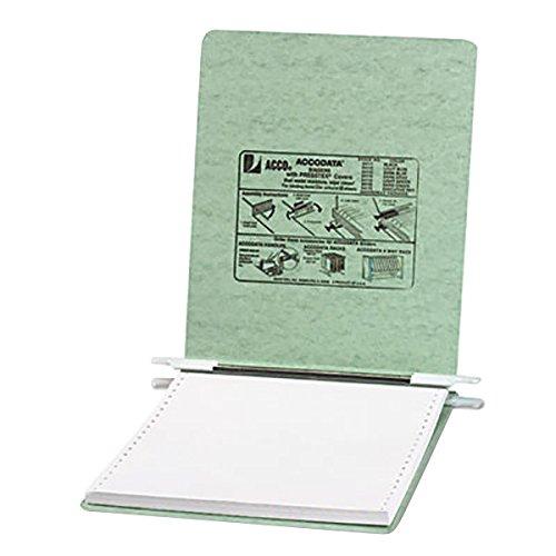 ACCO Pressboard Hanging Data Binder, 9.5 x 11 Inches Unburst Sheets, Light Green (54115) (Pressboard Data Binder)