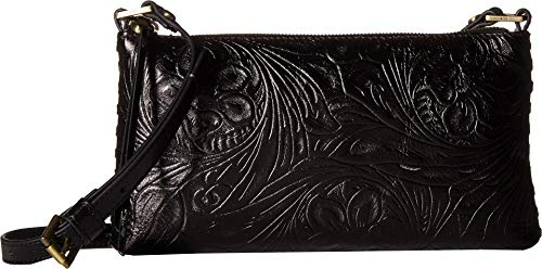Hobo Hobo Black Embossed Womens Womens Riff PPfq8Uw