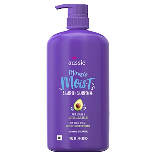 (Aussie Paraben-Free Miracle Moist Shampoo with Avocado & Jojoba for Dry Hair, 30.4 Fluid Ounce, 4 Count)