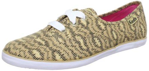 Keds Rookie Animal Print WF46423 - Zapatillas de lona para mujer Marrón (Braun (animal tan normal))