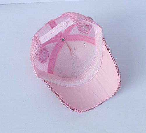 25b99b831009 Smile YKK Enfant Solaire Casquette avec Paillettes Vogue Chapeau de  Baseball  Amazon.fr  Vêtements et accessoires