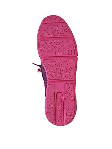 DESIGUAL Mujer Dise?ador Deporte Sneaker Zapatos - MUEVETE -36 jrAQHE