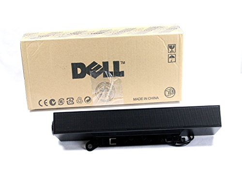 Dell Genuine AX510 Entry Flat Panel Stereo Sound Bar, 1908FP -