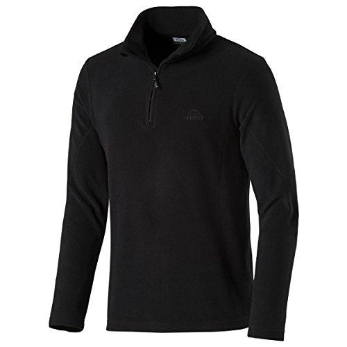 McKINLEY Herren Fleece Malte Fleeceshirt, Black, M