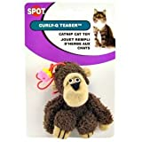 Ethical Plush Curly-Q Teasers Catnip Cat Toy, My Pet Supplies