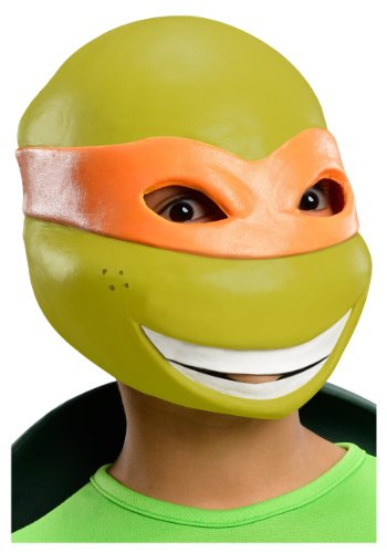 T.M.N.T. Michelangelo Vinyl 3/4 Costume Mask Child