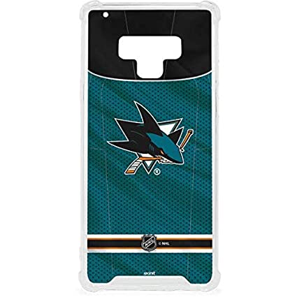 111edeecc91 Image Unavailable. Image not available for. Color: Skinit San Jose Sharks  Home Jersey Galaxy Note 9 Clear Case ...