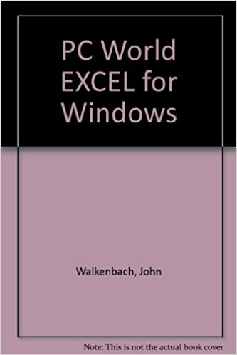 PC World Excel 4 for Windows: Handbook/Includes Quick
