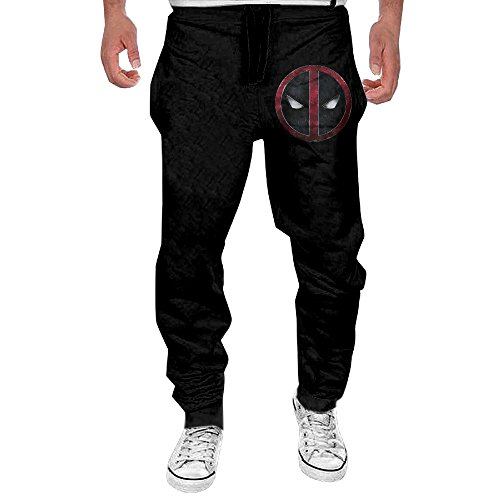 Logo Julius Pant - Deadpool Logo Tutorial Men's Sweatpant Joggers Running