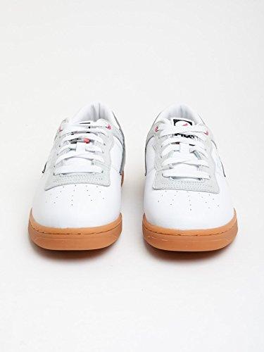 Staple X Fila - Zapatillas de skateboarding para hombre blanco blanco