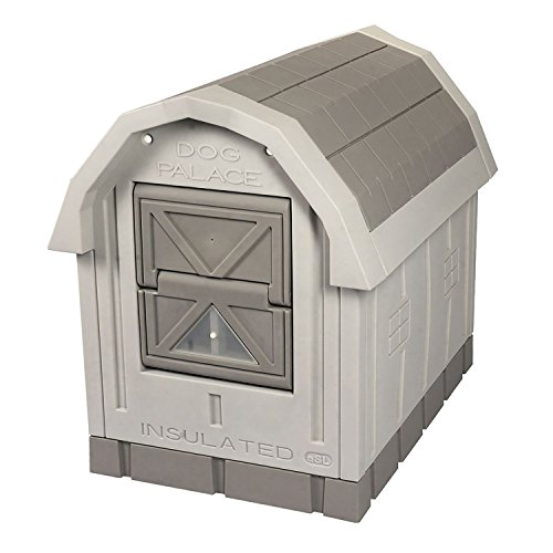 ASL Solutions Deluxe Insulated Dog Palace with Floor Heater by by ASL Solutions