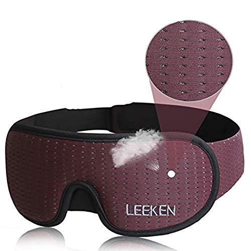 Leeken Sleep Mask Lights Blockout