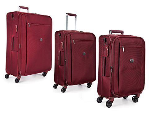 Delsey Luggage Montmartre+ Set of 21 inch, 25 inch, and 29 inch. - Delsey Nylon Bag Garment