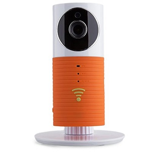 Mini Infrared Smart Baby Monitor Wireless WiFi IP Camera with Two-way Audio Motion Detection Night Vision for Iphone Android Smartphone Ipad (Orange) -  Cleverdog