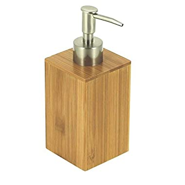 EVIDECO Eco Bio Square Bamboo Soap and Lotion Dispenser