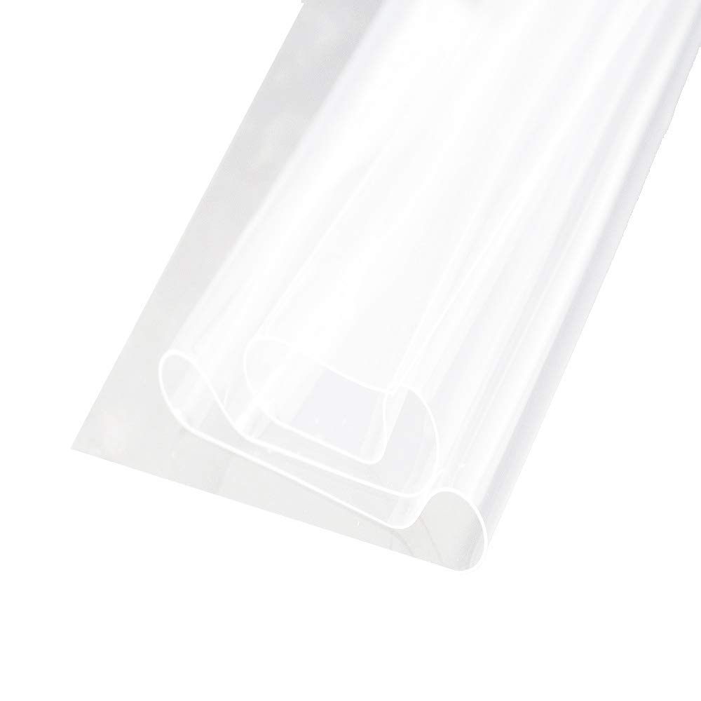2 Pcs Silicone Rubber Sheet High Temp Thin Transparent Heat-resistant Replacement Pad 12 inch x 20 inch Laimeisi