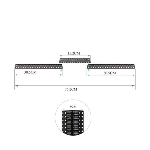 GFTIME 92380 30,48 CM a 76,2 CM Universale Piastra BBQ Diffusore di Calore Parti di Ricambio per Griglia Barbecue a Gas… 6 spesavip