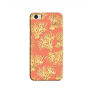 Cover It Up - Red Gold Nature Print V5 Plus Hard Case
