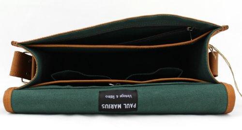 LE A4 bandoulière MARIUS PAUL couleur cuir format naturel MESSAGER M sac rFWq8crHZx