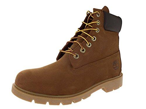 Timberland Mens 6 Basic Contrast Collar Boot, Rust Nubuck, 50 D(M) EU/14.5 D(M) UK