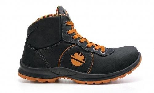 AGILITY ADVANCE H S3SRC scarpa alto scarpe di sicurezza, Dike di sicurezza nero