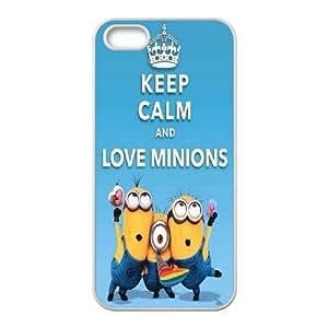 Yoda Keep Calm iPhone 4 4s Cell Phone Case White QWC