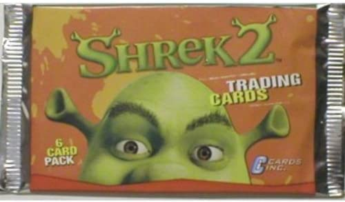 Amazon Com Shrek 2 Trading Card Booster Pack Toys Games
