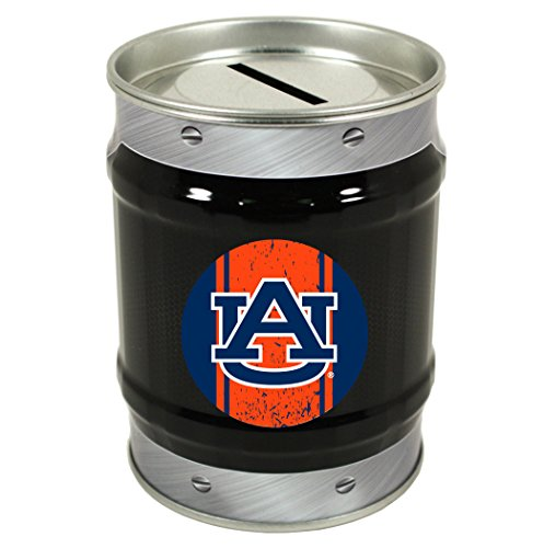- NCAA-AUBURN TIGERS COIN BANK-AUBURN UNIVERSITY TIN BANK-NEW FOR 2016!
