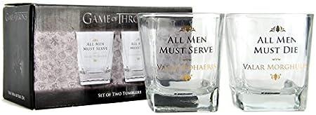 Game Of Thrones Set de 2 Vasos Juego de Tronos 200 ml, 1