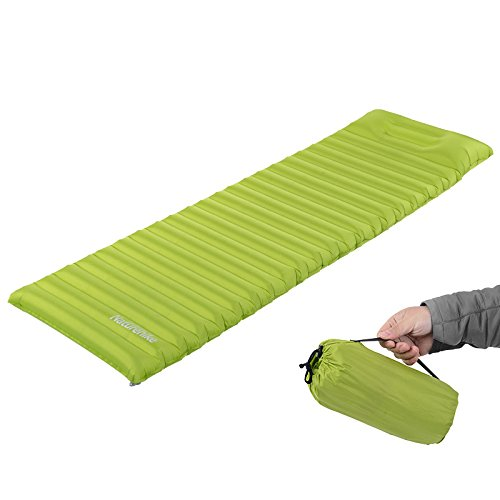 Naturehike Outdoor Air Mattress with Pillow Camping Tent Pad Travel Moisture-proof Mat