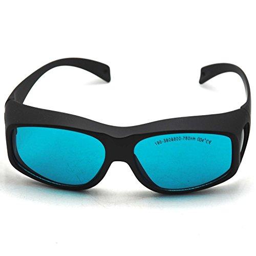 190-380nmおよび600-760nm OD4 + CE赤色レーザー安全ゴーグル保護眼鏡EP-2-9
