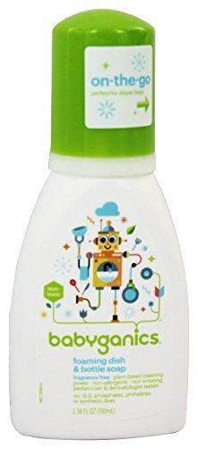Babyganics Foaming Dish & Bottle Soap - Fragrance Free - 3.38 oz