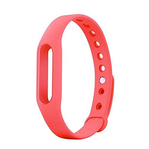 Replacement TPU Wrist Band for Xiaomi MI Band (Pink) - 5
