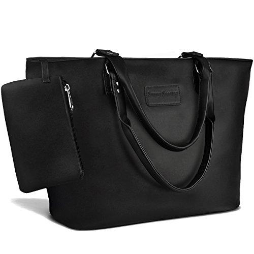 Tote Handbags for Women,Vintage Satchel Handbags ,Sunny Snowy Purse Tote Bag(8019,black)