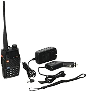 TYT TH-UVF9 Deluxe Ham Two Way Radio 136-174/400-470 MHz Dual-Band DTMF CTCSS DCS FM 5W Amateur Radio Transceiver with Extra JK ELECTRONICS Car Adaptor