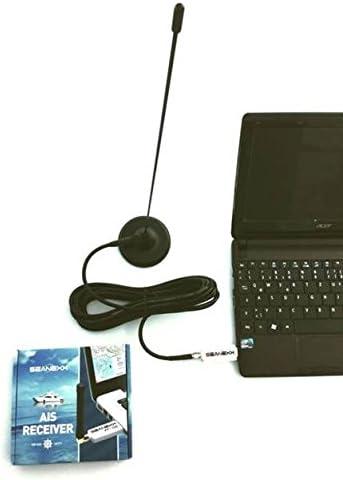 AIS-juego completo AIS-receptor + Antena con base magnética ...