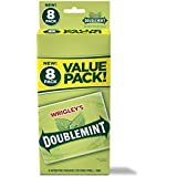 Wrigley's Doublemint Chewing Gum, 6 Value Packs (48 packs total)