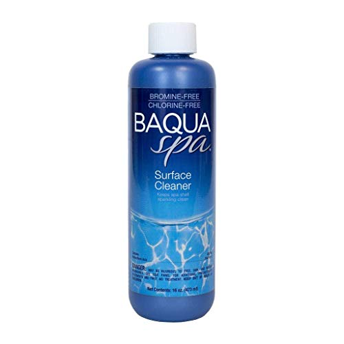 (Baqua Spa 88851 Surface Cleaner Spa Maintenance, Clear)