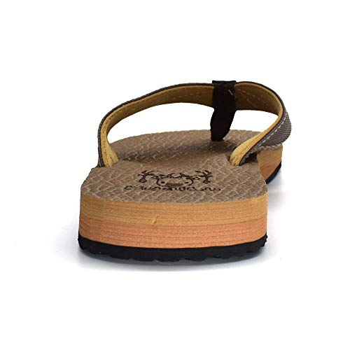 KuaiLu Caqui para Sandalias de Sintético Hombre 0r80Pwxq