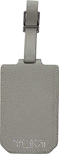 TUMI - Province Luggage Tag - Suitcase Identifier for Men and Women - Elephant Grey (Tags Luggage Tumi)