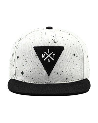 INTO THE AM Adjustable Snapback Hats - Flat Brim Galaxy Print, Tie Dye Cap Designs