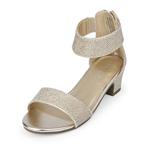 3fefe3991 Galleon - The Children s Place Girls  Dressy Low Heel Sandal