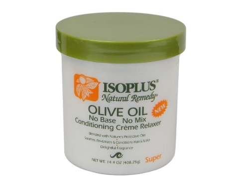 ISOPLUS Natural Remedy Olive Oil Relaxer Super 14.4 oz