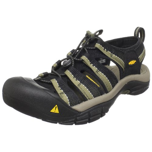 (Keen Men's Newport H2 Sandal,Black/Stone Gray,8 M US)