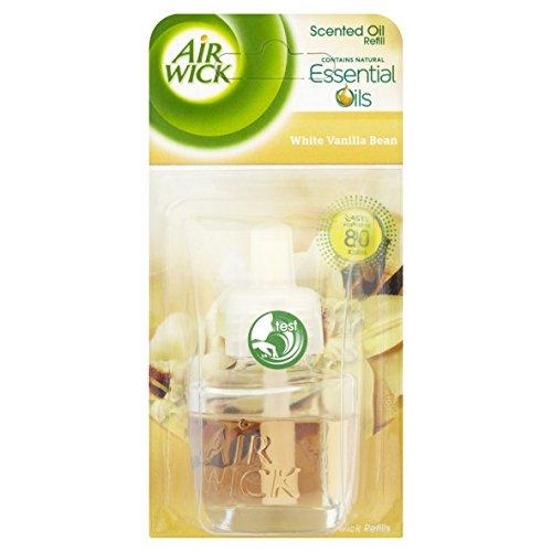 Air Wick Air Freshener, Electrical Plug-In, White Vanilla Bean, Refill 17...