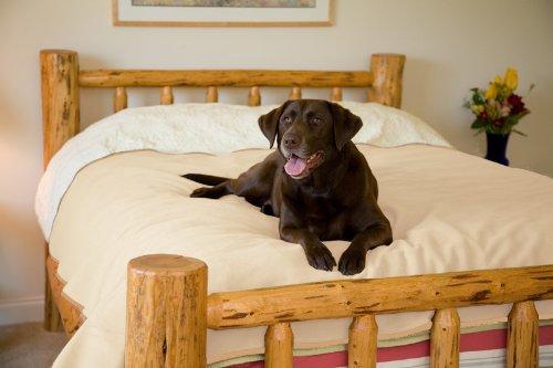 Waterproof Dog Bedding - Mambe 100% Waterproof Pet Blanket (Large 58